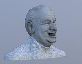 Juan Domingo Peron STL 3D model