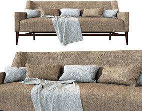 modern 3D model Trestle Sofa