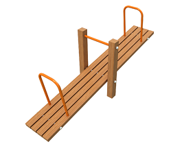 game-ready Seesaw Teeter Totter 3D Playground Type2
