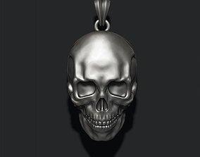 skull pendant biker 3D print model