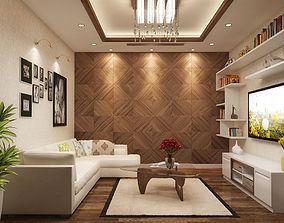 3D Common room villa
