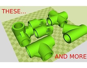 EMT - PVC building kit 3D printable model creativity