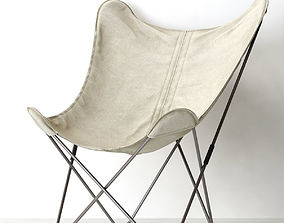TYE BUTTERFLY CHAIR 3D