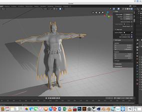 comics 3D model SUPER HERO
