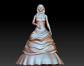 3D model bride