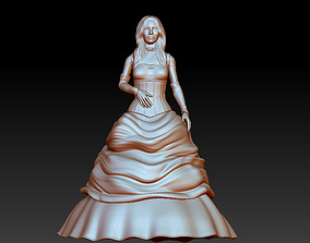 3D model bride fashion
