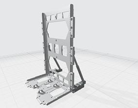 -MHB04-H- Mecha Hangar Bay Hangar only 3D print model