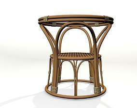 3D model Coffe table 60 years style