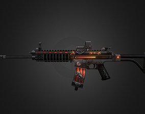 Xcr-constellation Gun-weapon model 3D asset