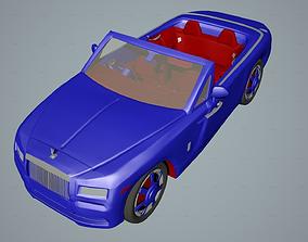 3D asset Car Rolls Royce