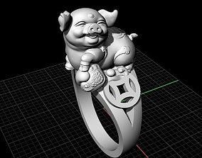 3D print model nhan nu