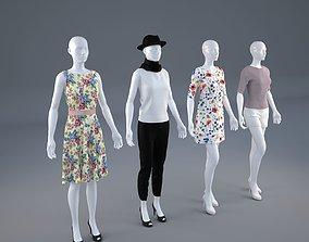 3D Mannequin Woman Cloth Model For Shop vol1 shop