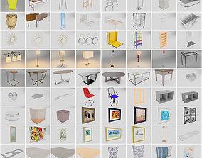 More than 85 Furniture Models 3D
