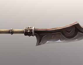 Weapon for World of Warcraft 3D asset