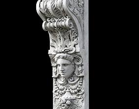 molding 3D model Corbel