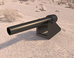 3D model Parrot gun