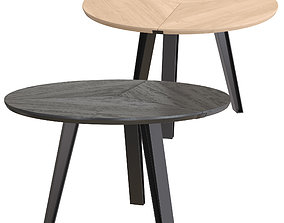 3D QLiv Side-To-Side Round Table