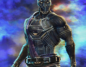3D model TChaka - Black Panther