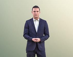 3D asset Marcel 10979 - Business Man Holding Hands 2