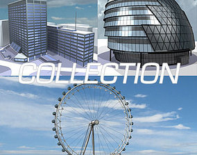 3D model London building collection