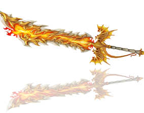 3D model Dragon Breath Big Sword