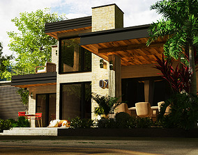 sketchup vray 2 render settings sketchup casa low-poly 1