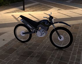 Yamaha bike motorcycle 3D