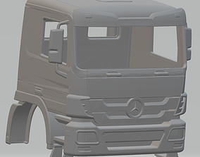Mercedes Actros Printable Cabin Truck