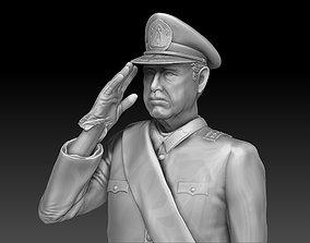 3D print model Augusto Pinochet