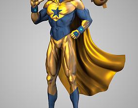 Booster Gold 3D print model