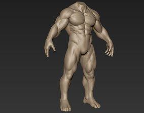 Creature Body Sculpt 17 3D model