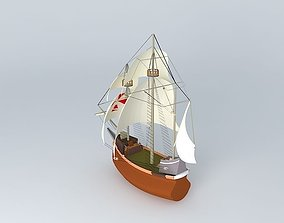 SPANISH STYLE GALLEON 3D