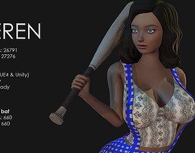 3D asset Keren Style I