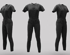 Female Clothing 02 3D model
