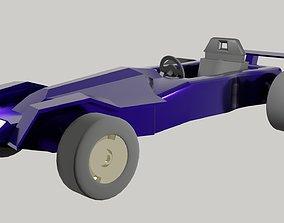 3D asset Racing car - Formula1 concept