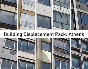 Building Displacement Pack Athens 3D model
