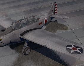 3D model North American O-47