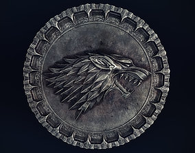 3D model Stark medal with PBR textures
