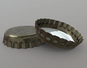 Bottle Cap 3D model VR / AR ready