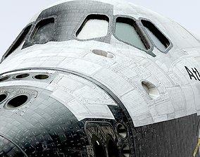 3D SPACE SHUTTLE Atlantis Exterior Only