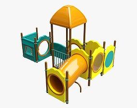 3D Kids playground outdoor 04