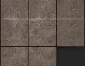 Yurtbay Seramik Ares Brown 600x600 3D model