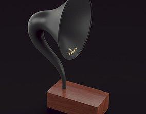 3D music Gramophone