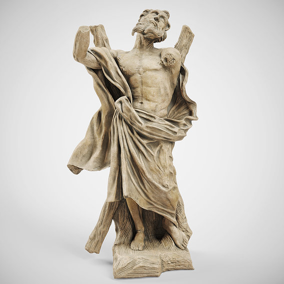Sculpture of ST ANDREW THE APOSTLE
