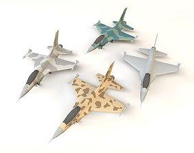 F-16 plane 3D model