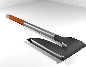 3D model Battle Axe - One Handed Bearded