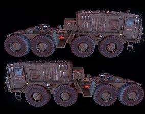 Russian Military Vehicles MAZ537 3D asset