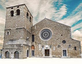 3D model San Giusto Cathedral