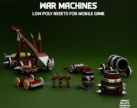 War machines pack 3D model