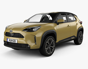 3D model Toyota Yaris Cross Hybrid 2020